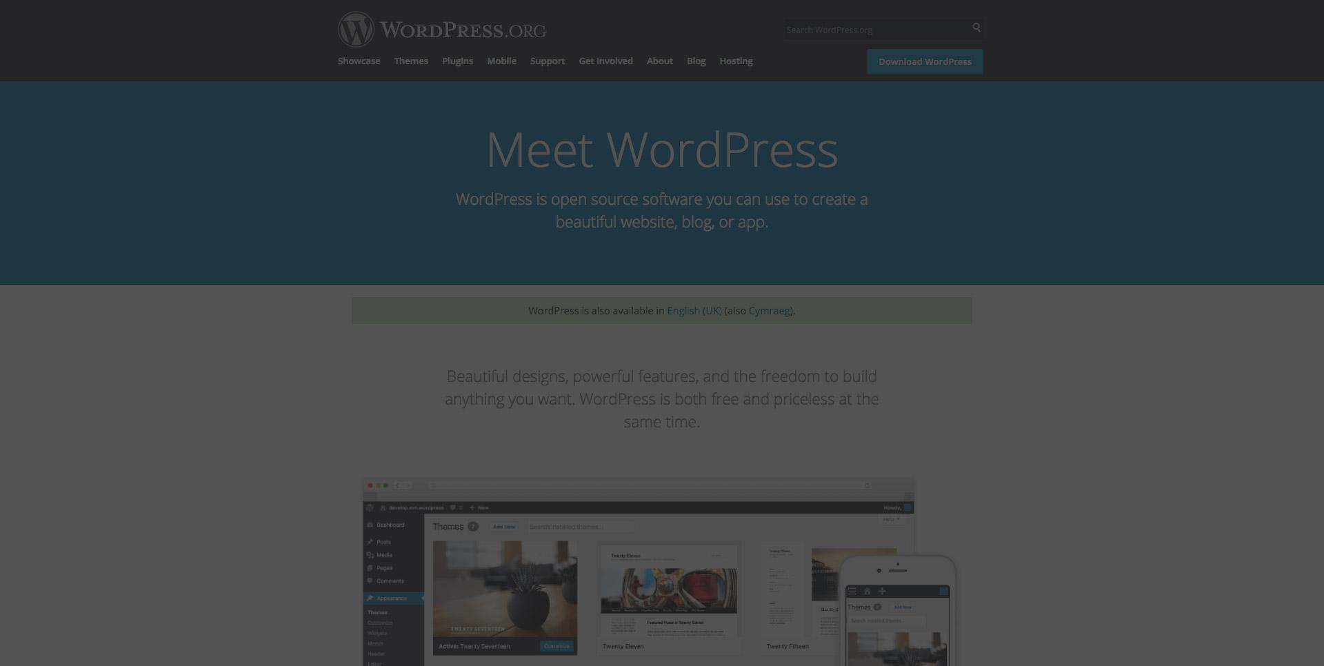 Why WordPress is the best website platform for SME's